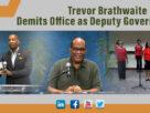Trevor Brathwaite Demits Office as Deputy Governor of ECCB